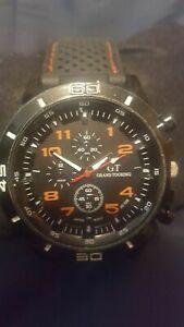 【送料無料】腕時計 シリコーングランドツーリングスポーツクロノグラフウォッチa men'syouthsteenagers gt silicone grand touring sports chronograph watch