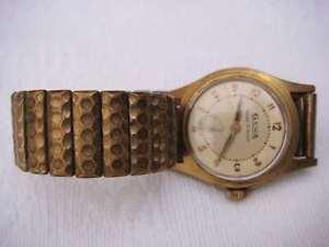 【送料無料】腕時計 プラークancienne montre mcanique gewa plaqu or ancre 15 rubis vbb60