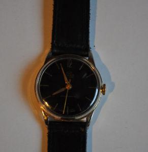 【送料無料】腕時計 メンズブラードゥルクスherrenuhr buler de luxhandaufzug zf schwarz