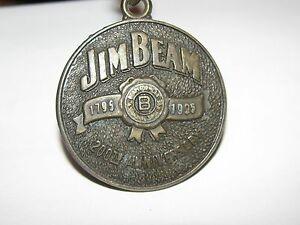 流行 【送料無料】腕時計 ジムビームウイスキーキーチェーンjim sided beam whiskey 1995 200th anniversary 1795 anniversary 1995 brass key chain fob two sided, あとむ運動本舗:73932c2c --- nuevo.wegrowcrm.com