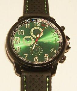 【送料無料】腕時計 スポーツパイロットシリコンクオーツmen sports military pilot aviator army silicone quartz wrist watch 5 colours