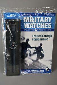 【送料無料】腕時計 ;イーグルモスミリタリーウォッチフランスramp;l mag sealed eaglemoss military watches 11 1950s french foreign legion