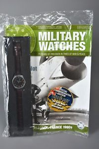 【送料無料】腕時計 ;イーグルモスミリタリーウォッチフランスパイロットramp;l mag sealed eaglemoss military watches 36 french naval navy pilot 1960s