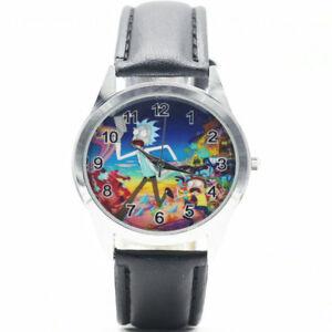 【送料無料】腕時計 リックウォッチテレビアニメクオーツアナログレザー