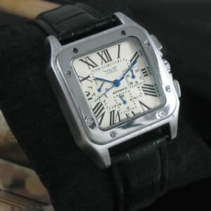 【送料無料】腕時計 メンズクラシックjaragar watches mens military luxury automatic leather wristwatch classic elega