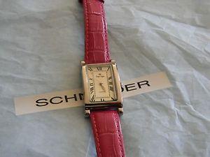 【送料無料】腕時計 プレミアデザインナンシーピンクバッテリードルpremier designs nancy pink leather watch w battery rv 68 free ship
