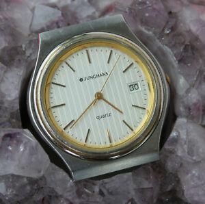 【送料無料】腕時計 リファレンスビンテージメンズウォッチjunghans quartz ref 41461244 vintage herrenuhr 35 mm