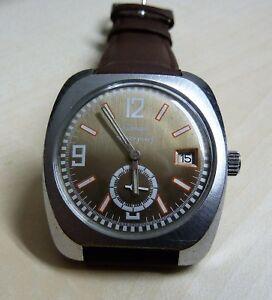 【送料無料】腕時計 マニュアル trnan datum handaufzug kal fe 23366 ca 1970er jahre