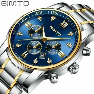 【送料無料】腕時計 クラシックゴールドブランドビジネスカジュアルclassic gold amp; silver wristwatch luxury brand business casual gifts for him men