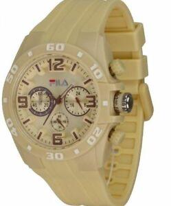 【送料無料】腕時計 ブランドフィラメンズクロノグラフmens brand fila chronograph watch fa103504 **uk seller**
