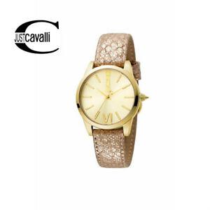 【送料無料】腕時計 キャバリレディースゴールドトーンjust cavalli womens gold tone luxury wrist watch jcw1l010l03