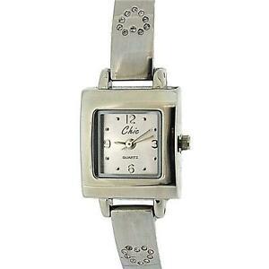 人気大割引 【送料無料 analogue】腕時計 chic ladies analogue stone set heart heart metal bracelet bracelet strap watch, 賑わいマーケット:1714f35a --- nuevo.wegrowcrm.com