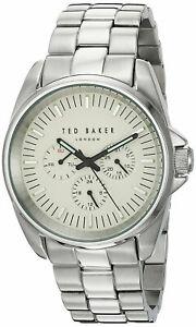 【送料無料】腕時計 テッドベーカーロンドン#アナログラウンドウォッチスティールブレスレットted baker london men039;s multifunction analog round watch steel bracelet 10025264