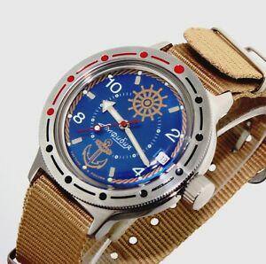 【送料無料】腕時計 ヴォストークロシアダイバーウォッチvostok amphibia orologio russo russian automatic diver watch 420374