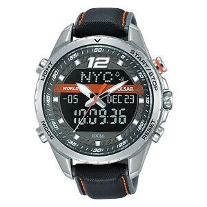 【送料無料】腕時計 パルサークロノグラフブレスレットpulsar gents chronograph bracelet watch pz4029x1