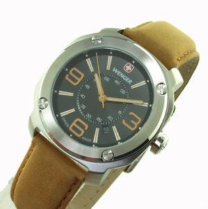 【送料無料】腕時計 ウェンガーメンズスイスエスコートwenger herren uhr escort swiss made 20151102 011051102  neu ovp