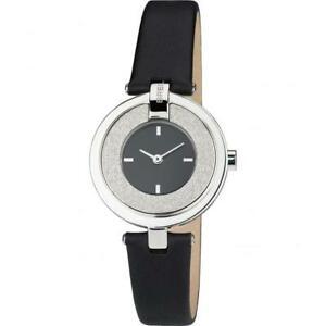 【送料無料】腕時計 ベラペレアレッサンドロオロロジオドナスワロフスキーシルバーorologio donna breil breilogy tw1445 vera pelle nero swarovski silver