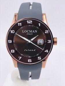 【送料無料】腕時計 アイスランドデータシモヌオーヴォorologio locman island data gommatitanio 40mm 600bbrma280 scontatissimo nuovo