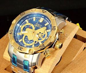 【送料無料】腕時計 トーンクオーツクロノグラフスキューバダイビングウォッチ invicta 48mm prodiver scuba 30 quartz chronograph 18k two tone watch 22762