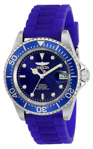 【送料無料】腕時計 invicta men039;s pro diver automatic 200m stainless steel silicone watch 23679