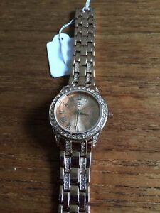 【送料無料】腕時計 レディースローズブリングウォッチladies s rose coloured bling watch w3279