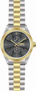【送料無料】腕時計 メンズクオーツクロノグラフトーンステンレススチールinvicta mens specialty quartz chronograph two tone stainless steel watch 29421