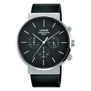 【送料無料】腕時計 クロノグラフレザーストラップウォッチlorus gents chronograph leather strap watch rt373gx8