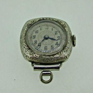 【送料無料】腕時計 アンティークコルナヴァンスイスkホワイトゴールドペンダントウォッチantique cornavin watch co swiss 16j 14k white gold filled pendant watch