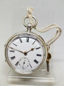 【送料無料】腕時計 アンティークソリッドシルバーポケットウォッチバーミンガム