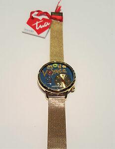 【送料無料】腕時計 orologio braccialini tua 1821am acciaio dorato