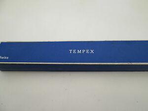【送料無料】腕時計 ウォッチボックスビンテージカードケースwatch boxvintage tempex card case,,,,, used