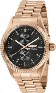 【送料無料】腕時計 メンズクォーツクロノローズゴールドトーンステンレススチールウォッチinvicta mens specialty quartz chrono rose gold tone stainless steel watch 29432