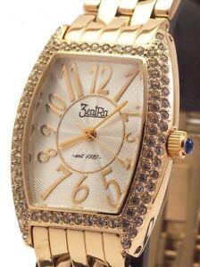 【送料無料】腕時計 レディーススワロフスキークリスタルウォッチzentra damenuhr z28365 mit swarovski kristalle