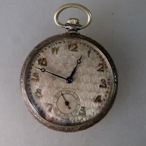 【送料無料】腕時計 アールデコart deco herrentaschenuhr gutes uhrwerk silber um 1925 50928