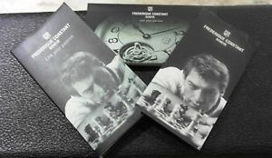 【送料無料】腕時計 ビンテージキットペーパーfrederique constant complete vintage kit warranty booklet and papers