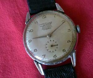 【送料無料】腕時計 チャールズビンテージハンドマニュアルウォッチ1940s charles nicolet tramelan vintage handwind watch orologio manuale 34,8mm
