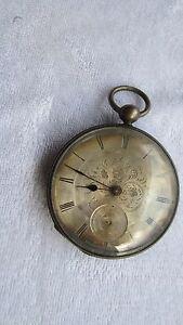 【送料無料】腕時計 ジュネーブhenriot , geneva silver watch , kwks , running