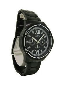 【送料無料】腕時計 メンズブラックローマクロノグラフウォッチ