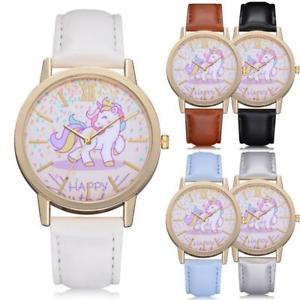 【送料無料】腕時計 ファッションユニコーンハッピーマルチカラートラック