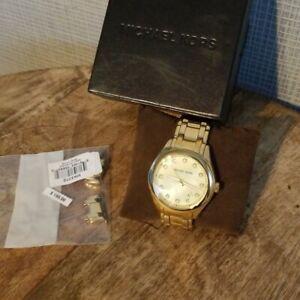 【送料無料】腕時計 ミハエルクォーツmichael kors mk5310 gold plated quartz watch