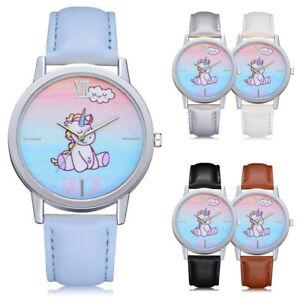 【送料無料】腕時計 ファッションユニコーンマルチカラーフリーウォッチ