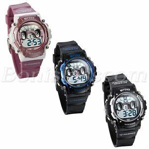 【送料無料】腕時計 スポーツデジタルkids boys girls multifunction children sports waterproof digital wrist watch