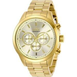 【送料無料】腕時計 #ゴールドトーンスチールブレスレットケースクォーツ29174 invicta men039;s specialty goldtone steel bracelet amp; case quartz watch