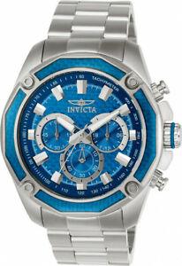 【送料無料】腕時計 メンズアヴィアクロノグラフクォーツステンレススチールinvicta mens aviator chronograph quartz 100m stainless steel watch 22804