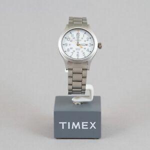 【送料無料】腕時計 シルバーウォッチトーンtimex allied watch in silvertone amp; white