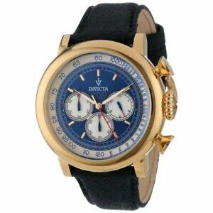 【送料無料】腕時計 ビンテージレザークロノグラフウォッチinvicta vintage 13057 leather chronograph watch