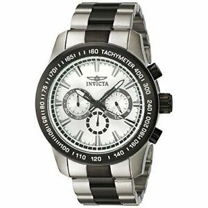 【送料無料】腕時計 トーンステンレススチールメンズスピードウェイクロノグラフウォッチinvicta mens speedway 21799 twotone stainless steel chronograph watch