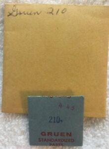 【送料無料】腕時計 ヴィンテージヴィンテージgruen 210 vintage watch movement set bridge nos gruen vintage watch part 445