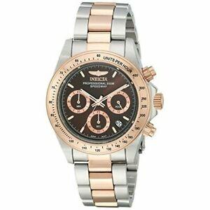 【送料無料】腕時計 ステンレススチールスピードウェイクロノグラフウォッチinvicta speedway 17029 stainless steel chronograph watch