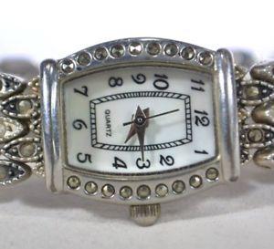 【送料無料】腕時計 ベルガークォーツシルバーアナログウォッチmz berger quartz silver tone womens detailed causal analog watch wristwatch
